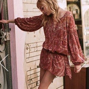 NWT Spell City Lights Tunic dress sz xs